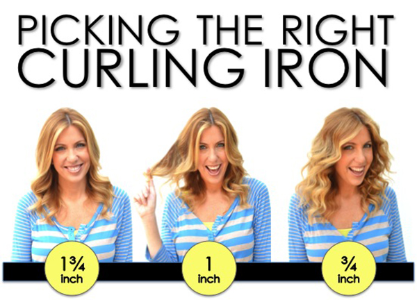 Picking The Right Curling Iron Martha Lynn Kale