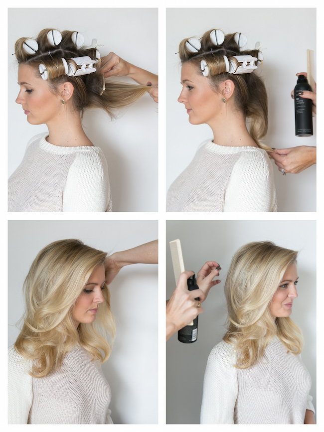 HOW TO HOT ROLL YOUR HAIR Martha Lynn Kale