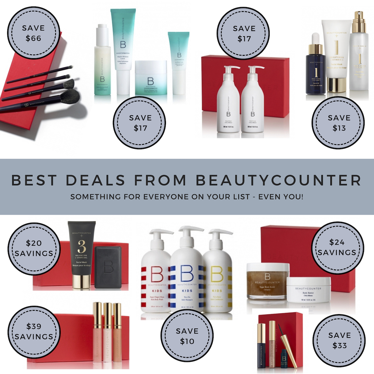 BEST DEALS FROM BEAUTYCOUNTER